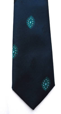 Formal tie by Angelo Litrico Made in Ireland washable practical polyester tie
